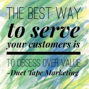 Obsessing Over Value