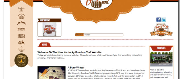 Project of the Week – Kentucky Bourbon Trail® Website